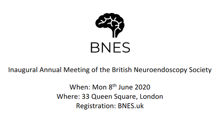 Inaugural meeting of the British Neuroendoscopy Society (BNES)